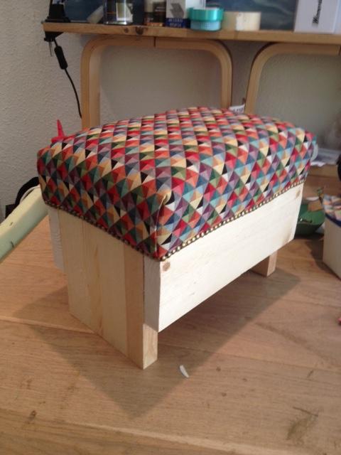 Ongebruikt Workshop poef/voetenbank maken | Atelier Stof Veertje NM-14